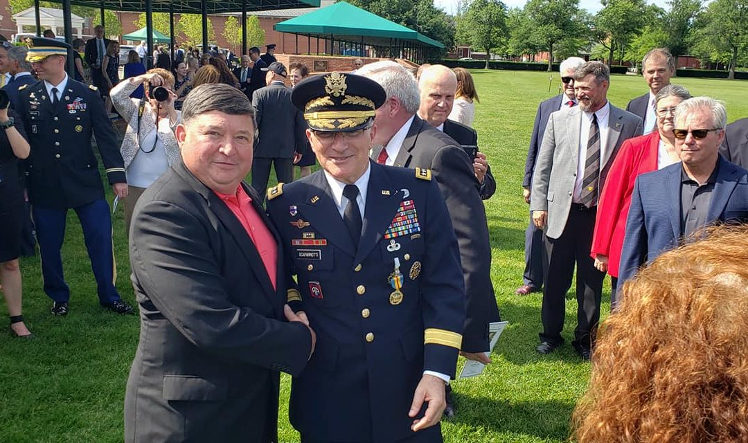 Head US delegate attending retirement of SACEUR