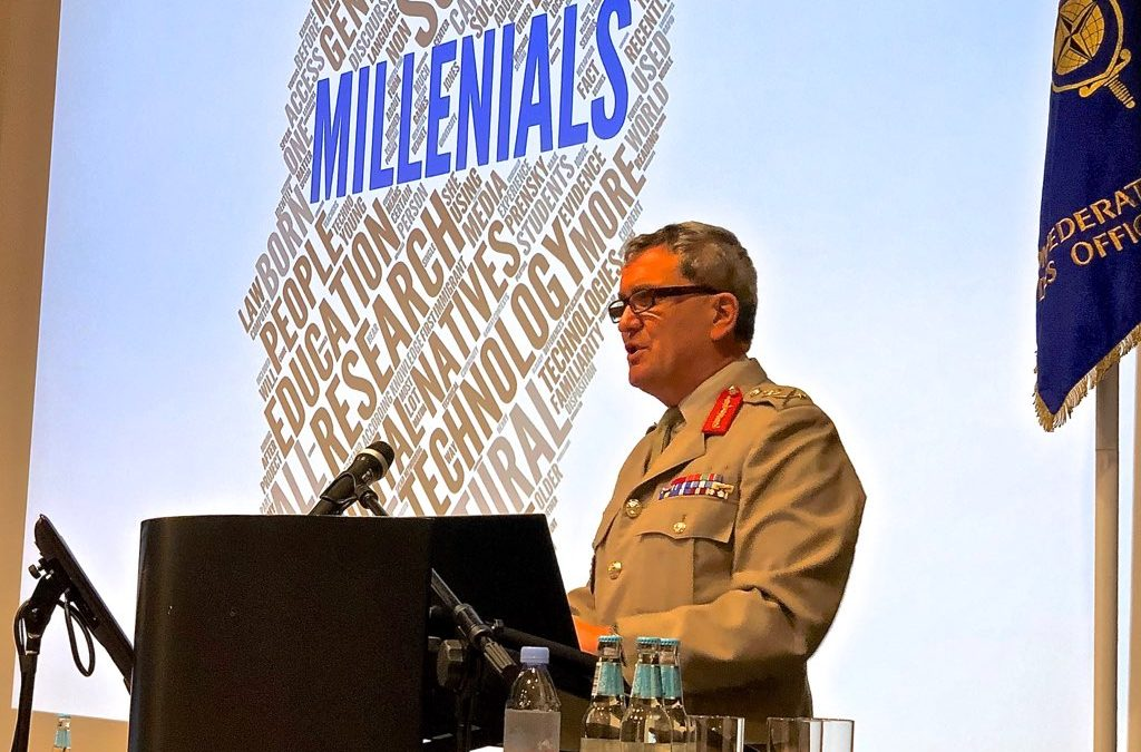 – The Millennial is the Reservist of tomorrow