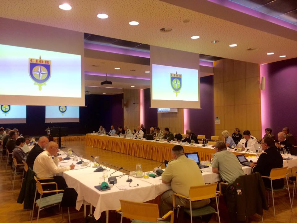 CIOR Council and representatives in discussions during the CIOR In-Between Meeting