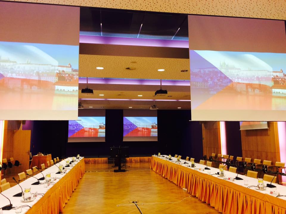 Conference hall after CIOR In-Between Meeting