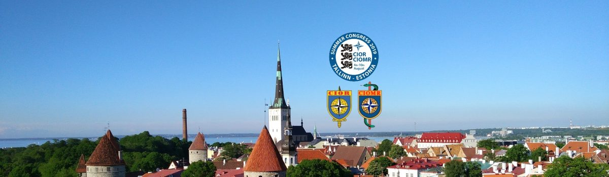 CIOR-CIOMR Summer Congress 2019 in Tallinn, Estonia