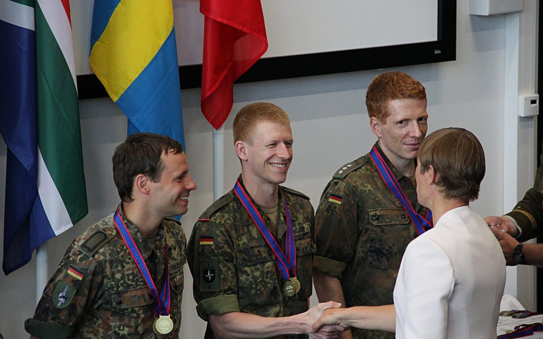 Germany best nation in military competition