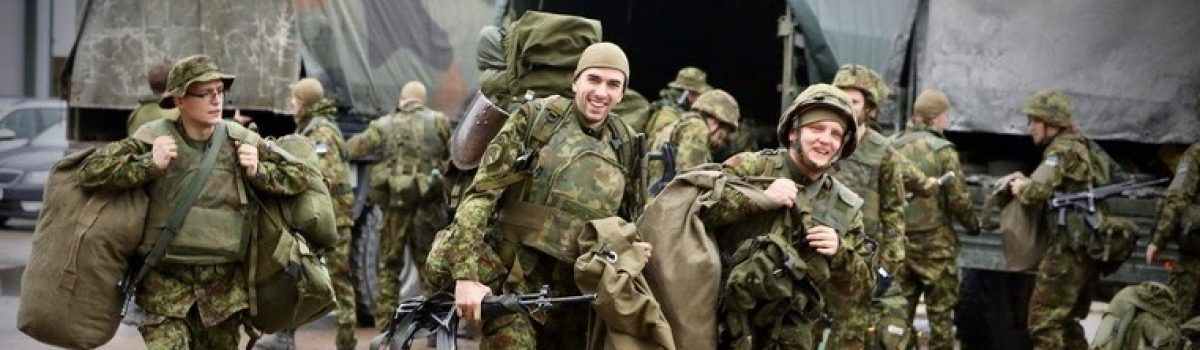 Estonian 'snap exercise' for over 800 Reservists