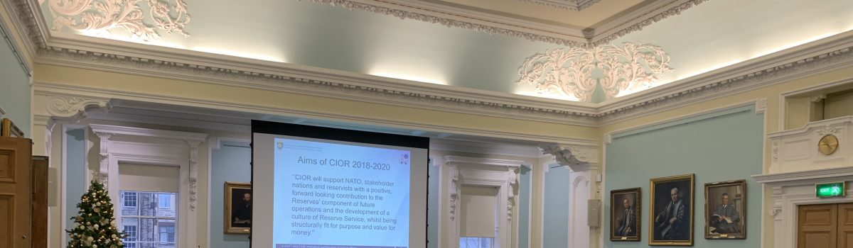 Autumn CIOR meeting opens in Edinburgh