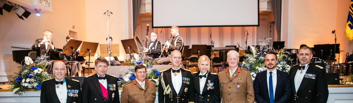 CIOR President and Secretary General attend Estonia Defence Forces 101st anniversary