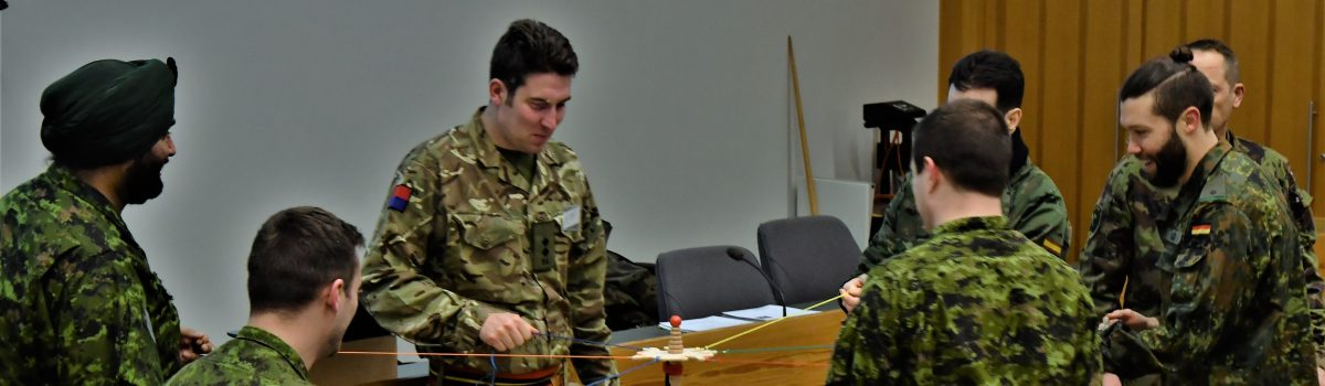 Young Reserve Officer Outreach Seminar in Czech Republic in March