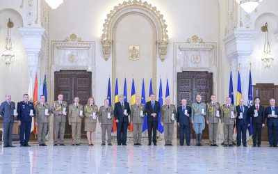 Romanian Reserve Officer Association awarded by President of Romania
