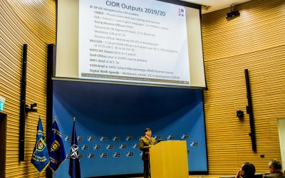 CIOR Mid-Winter Meeting opened at NATO HQ