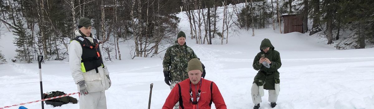 Winter survival Course: How to extract from Water safely