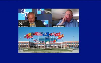 CIOR IT Support officer presented at NATO conference