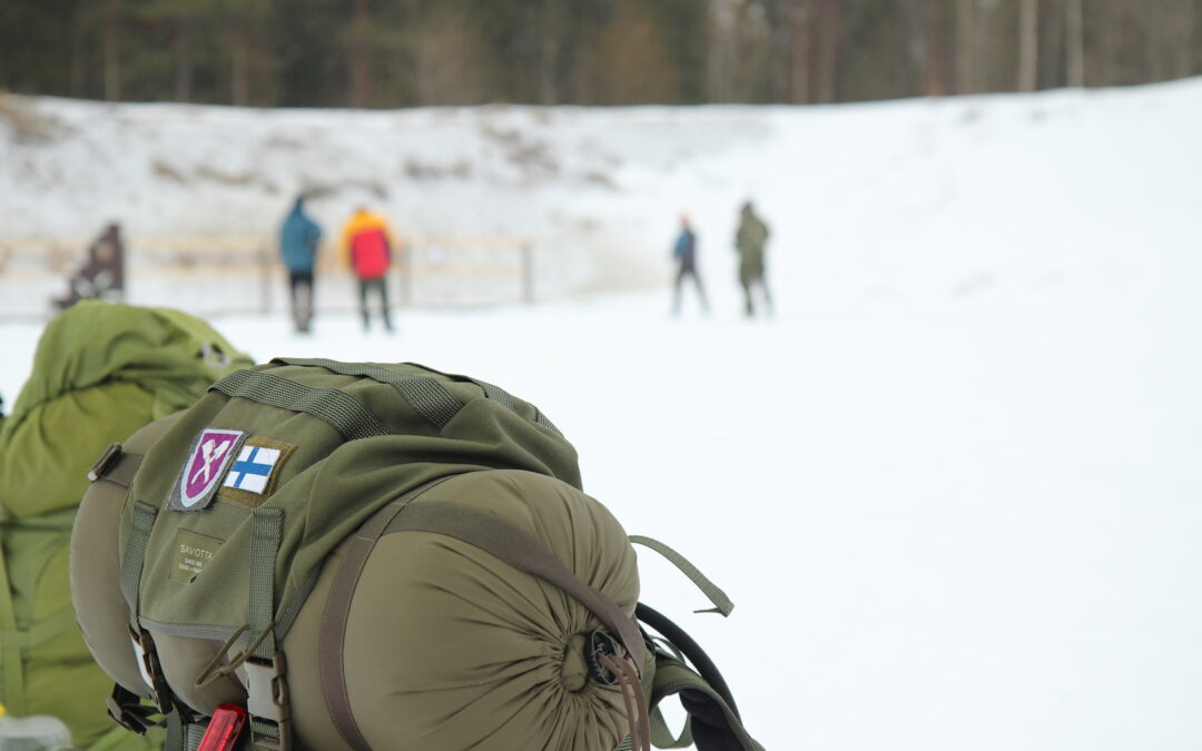First decentralised patrol skill competition held in Finland